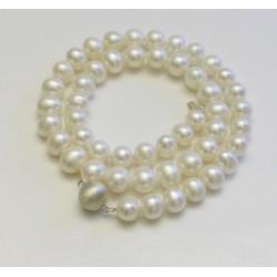 SELENE 8-9mm Perlenkette