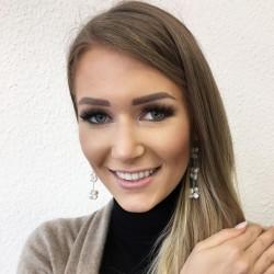 Eudora Perlenohrringe weiss aus Süsswasserperlen und Silber