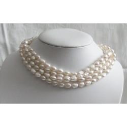 KASTALIA 9x7mm Perlenkette