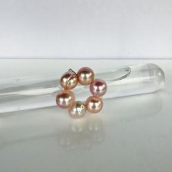 Halia Fingerkettchen aus ca. 9mm Perlen rosa