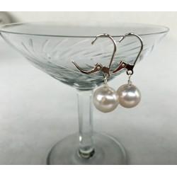 SELENE Perlenohrringe 1 Perle