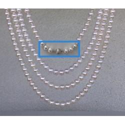 SELENE 8-9mm Perlenkette...